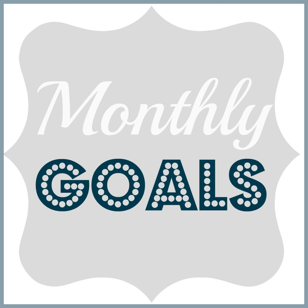 monthly goals list