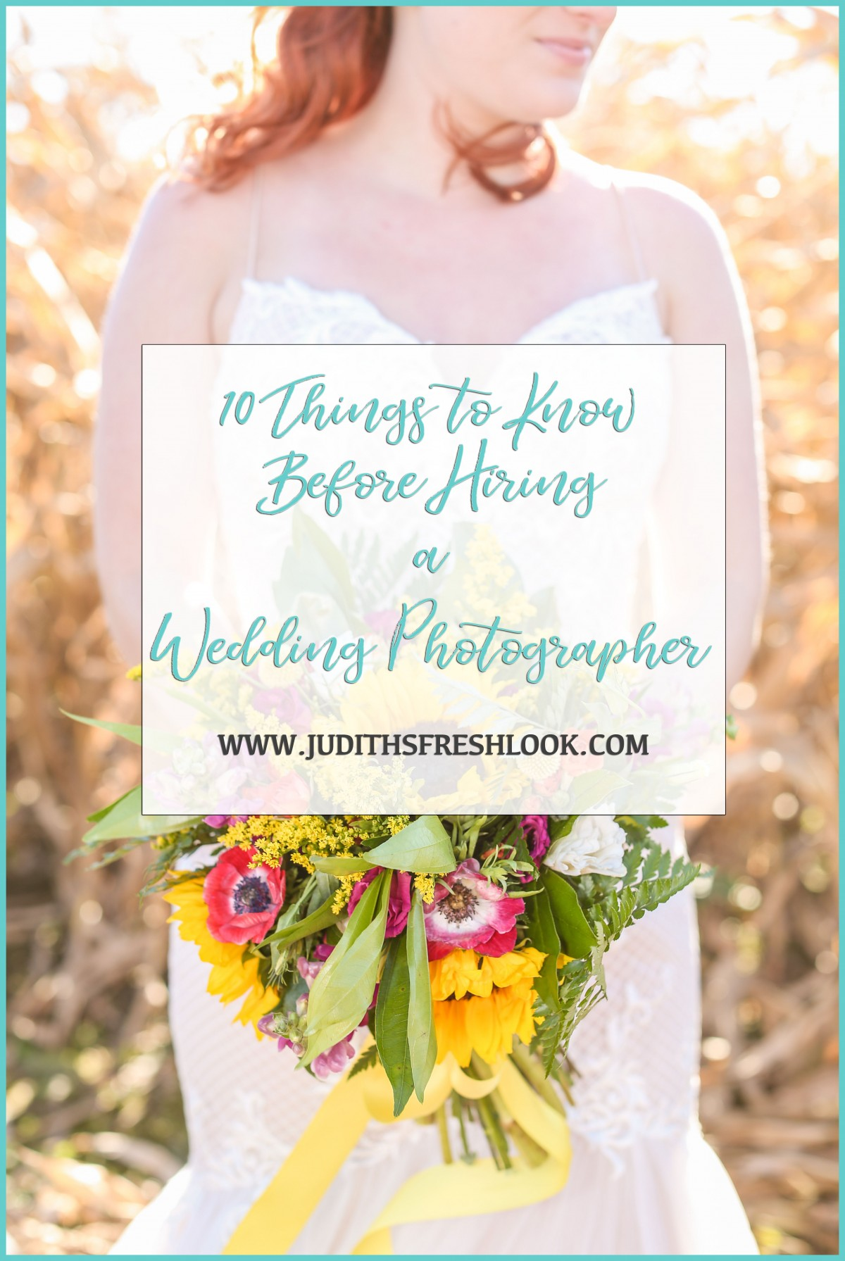 Things To Know About Hiring A Wedding Photographer