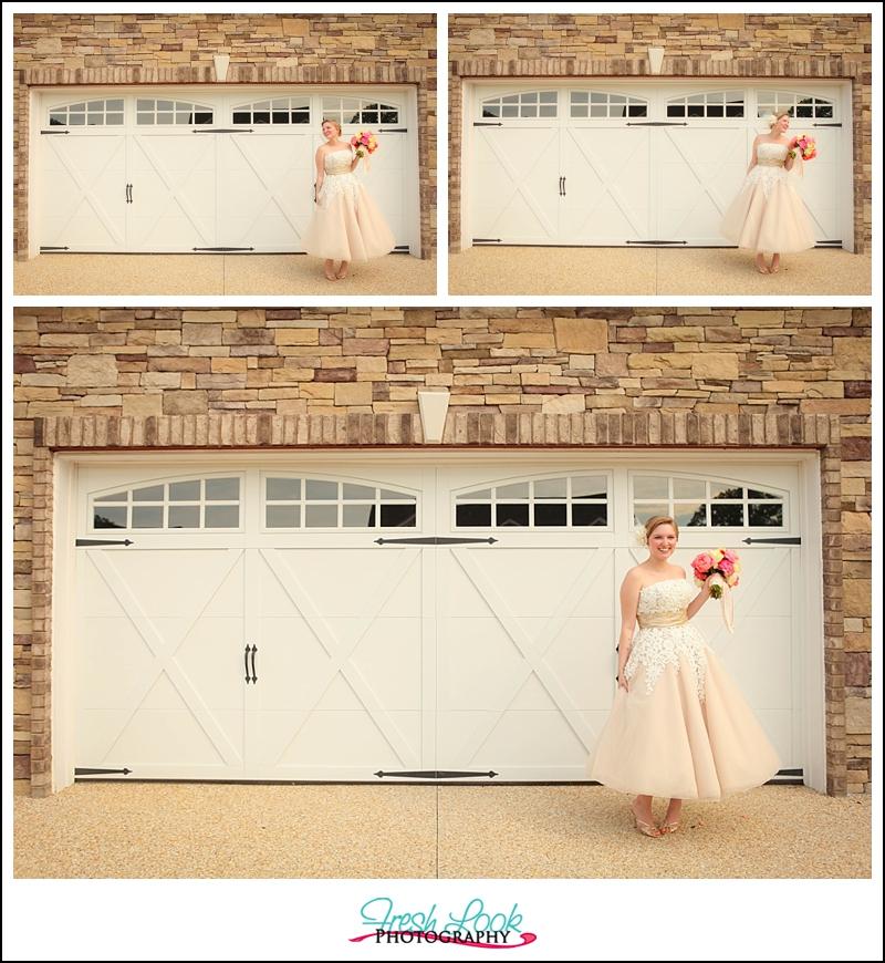big, sweeping bridal