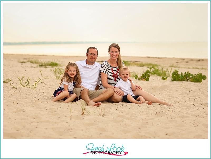 seaside photo shoot
