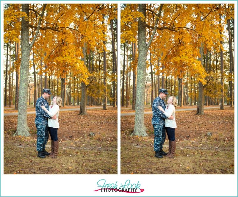 romantic forrest photo shoot