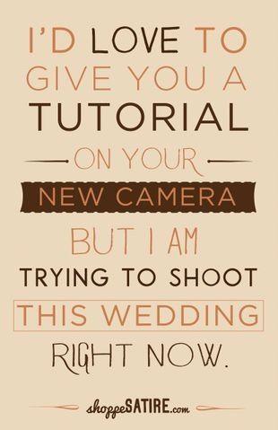 Photography Humor | Shoot to Smile - JudithsFreshLook.com