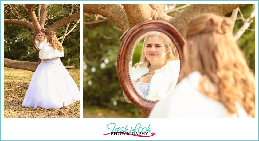 bridal mirror picture