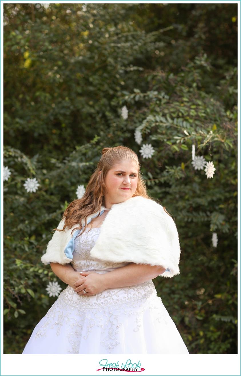 fall bridal session