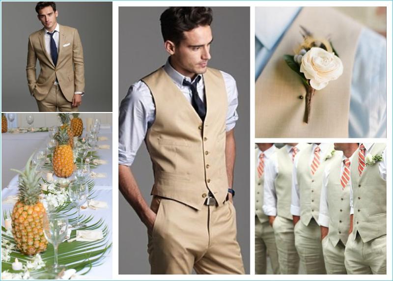 best 25 groomsmen attire khaki ideas on pinterest tan wedding ...