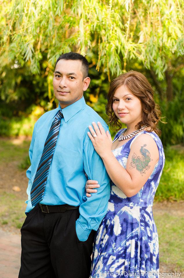 surprise engagement photo shoot