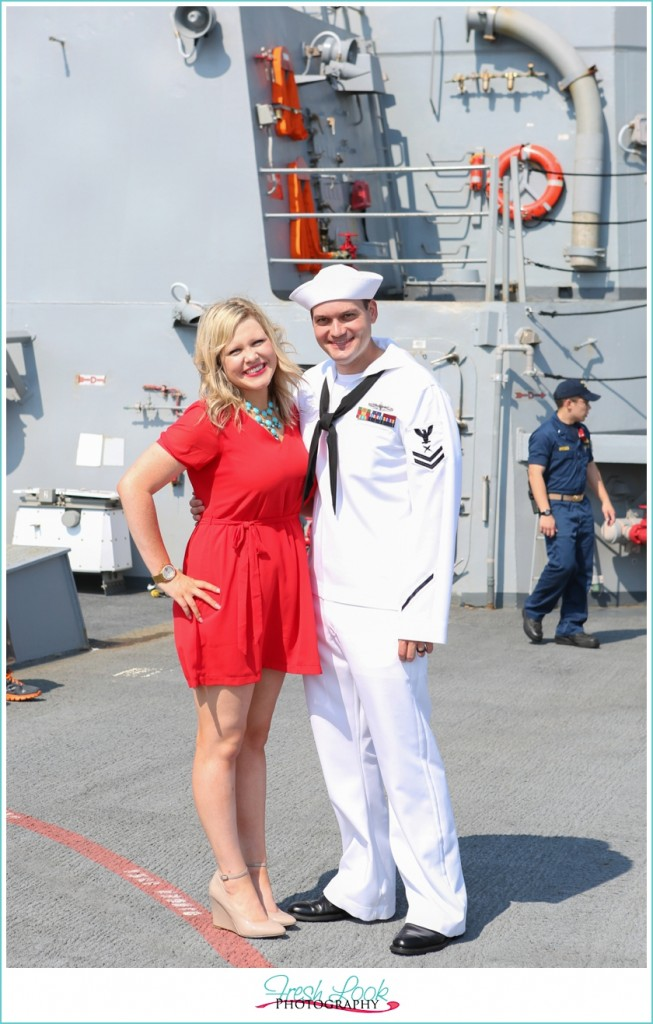 USS Nitze Homecoming