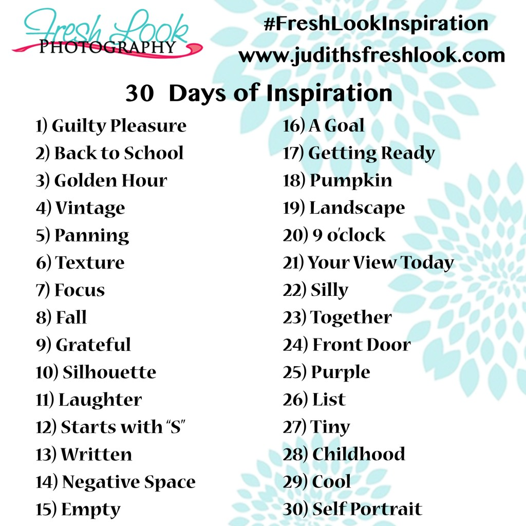 September 30 Day photo challenge