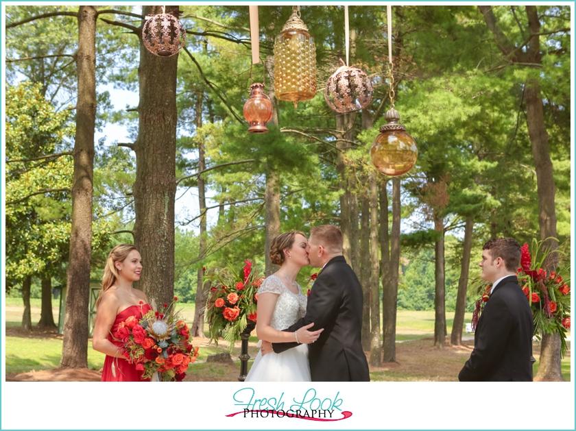 Fall Southern Charm Stylized Wedding