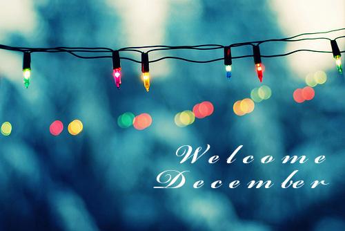 December goals list