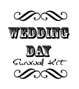 wedding survival kit you need one judithsfreshlook com