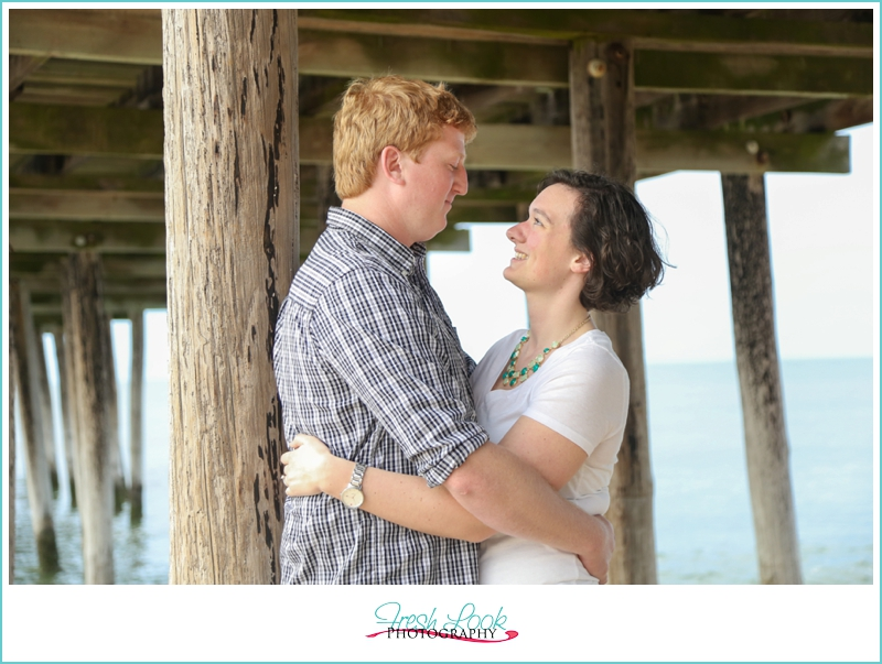 love under the pier