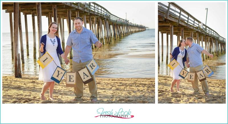 1st anniversary beach shoot