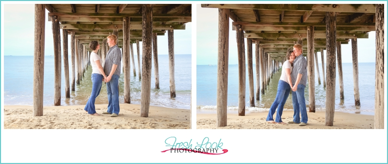 Virginia Beach engagement photographer