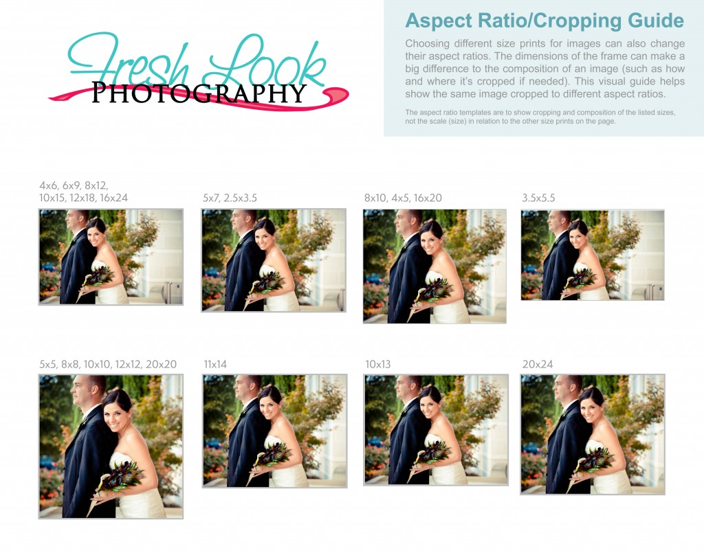 Aspect ratio for cropping