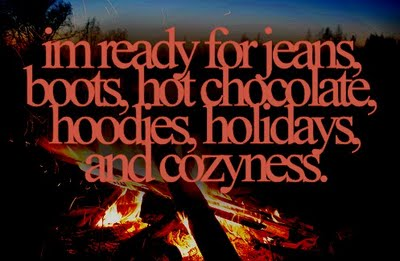 who else is ready for fall