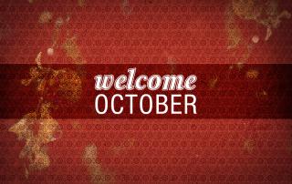 October Monthly goals