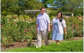 norfolk botanical gardens engagement
