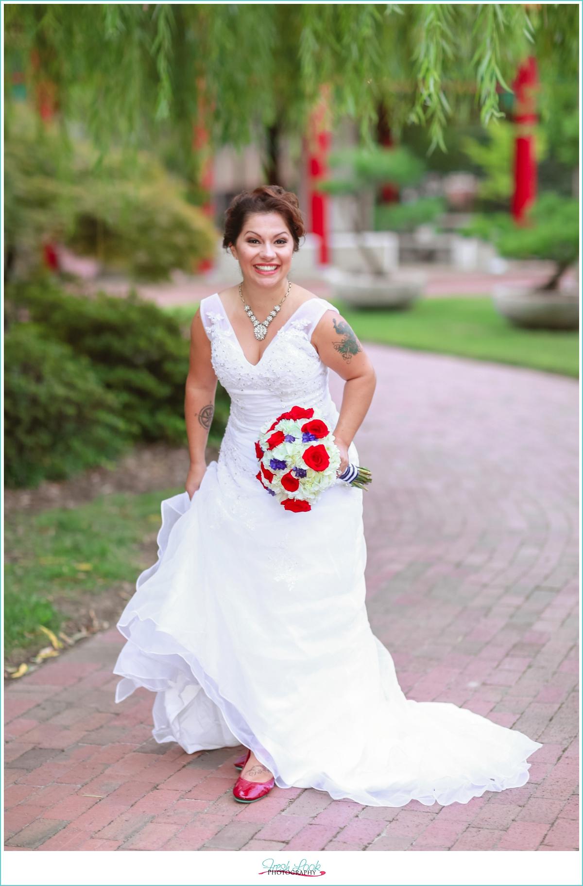 nautical bridal session