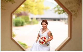 happy bride photos