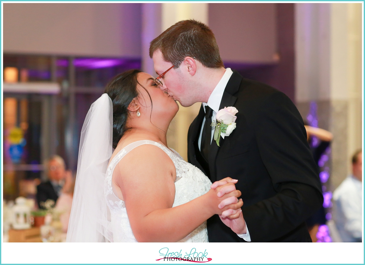 kiss after the first dance