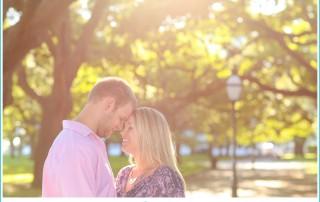 romantic Charleston anniversary session