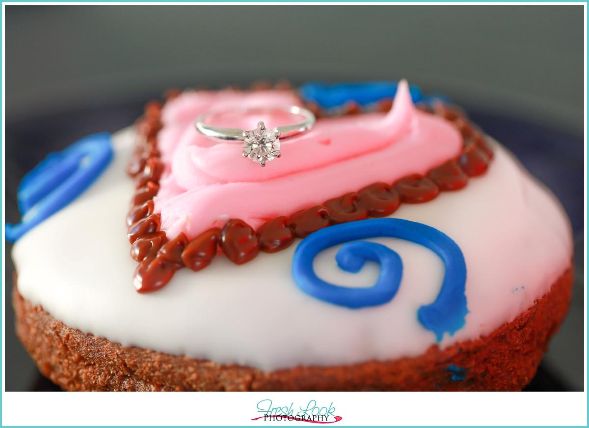 Donut Engagement Ring