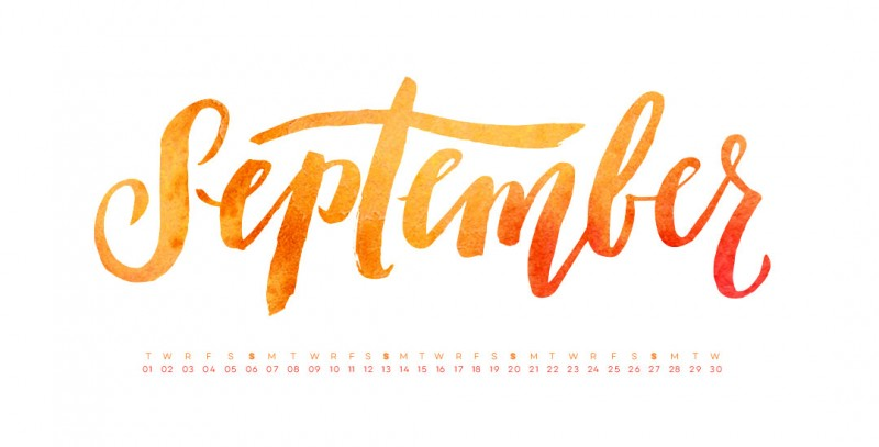 Monthly Goals September edition