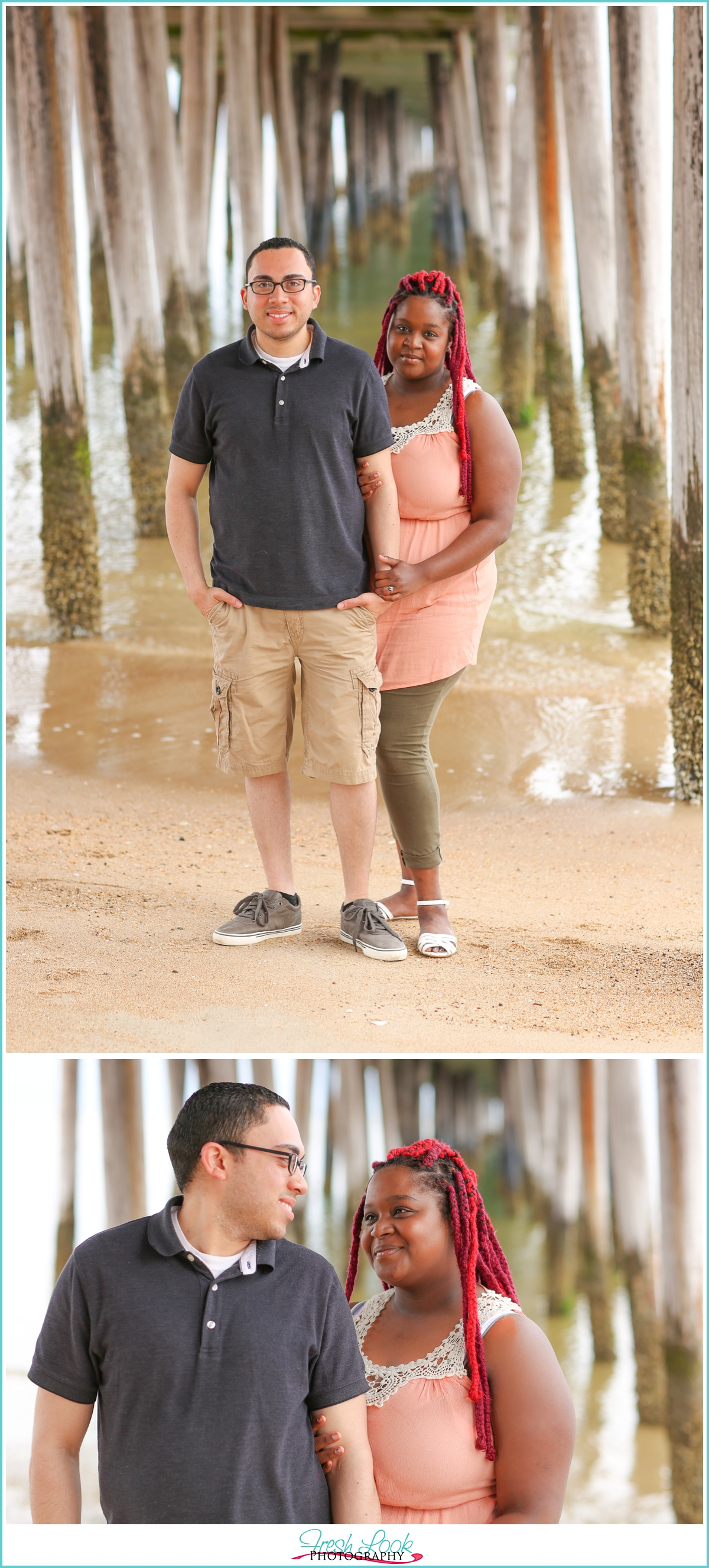 couples beach photo ideas