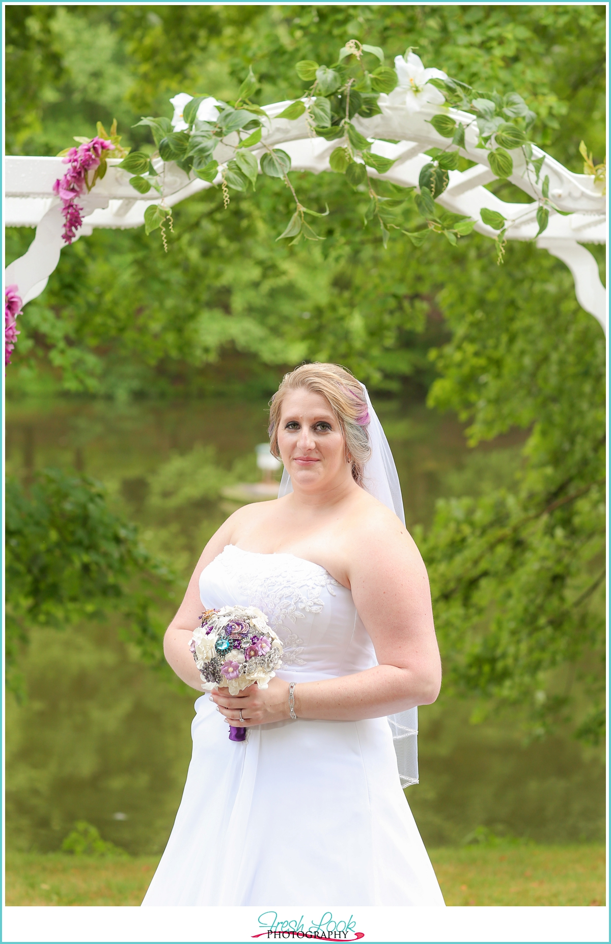 married at Mountain Acres Lodge