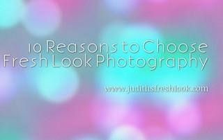 10 reasons to choose Fresh Look