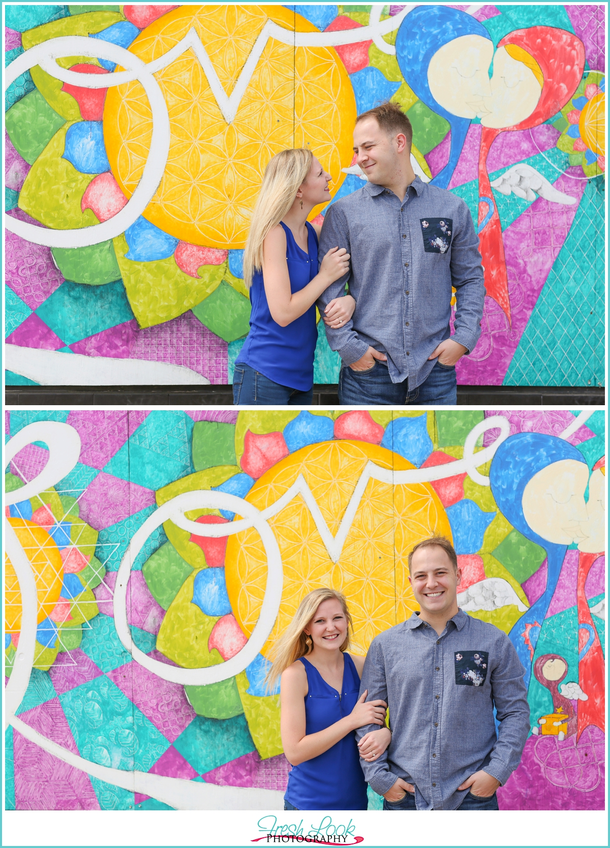 love engagement shoot