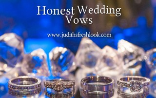 honest wedding vows