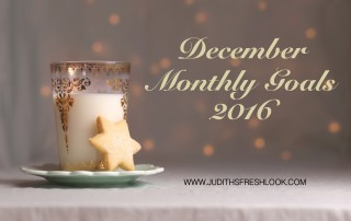 Monthly Goals December Edition