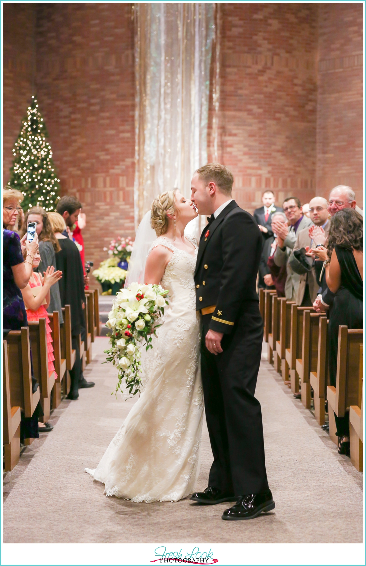 last kiss in the church