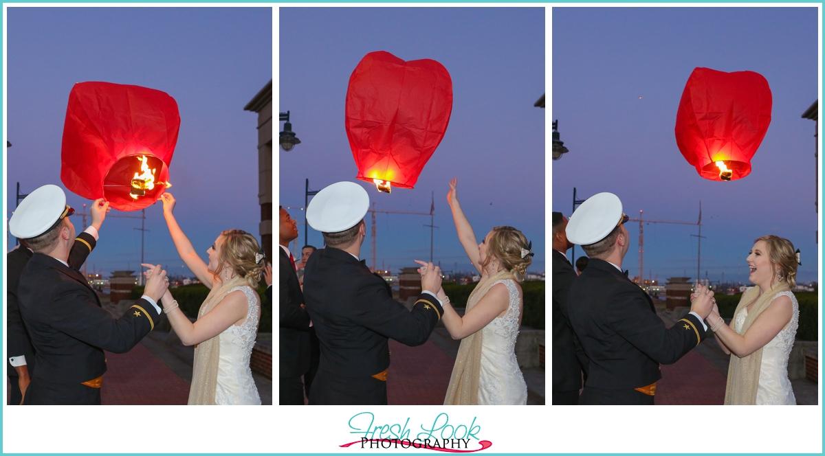 paper lantern ceremony