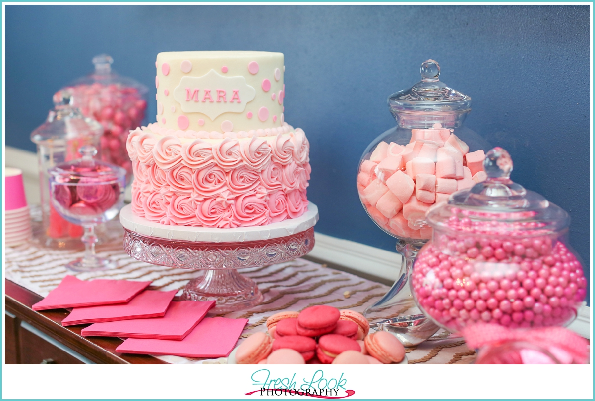 Pink Tea Party Mara Turns 8 Judithsfreshlook
