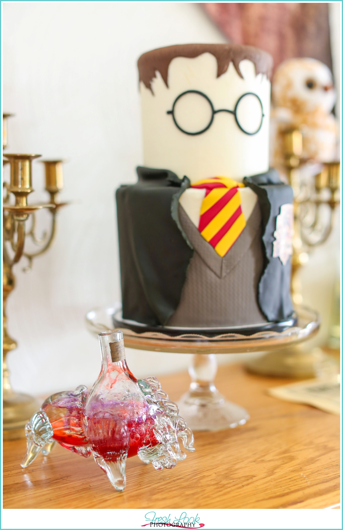 Pleasant Harry Potter Birthday Party Wesley Turns 12 Judithsfreshlook Com Funny Birthday Cards Online Sheoxdamsfinfo