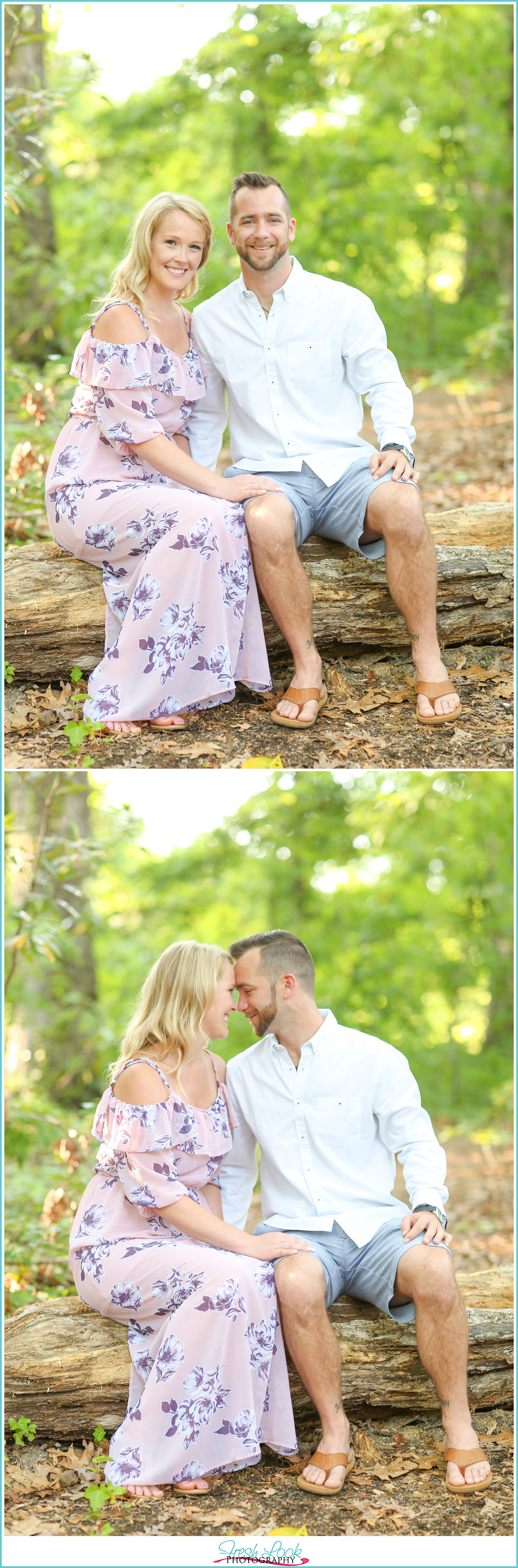 elegant engagement session