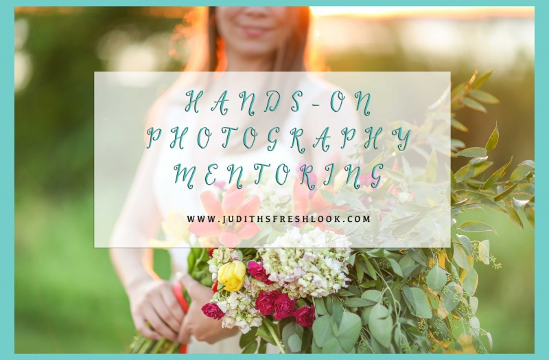 hands-on photography mentoring