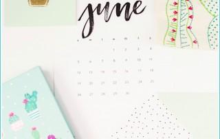 June 2017 Monthly Goals