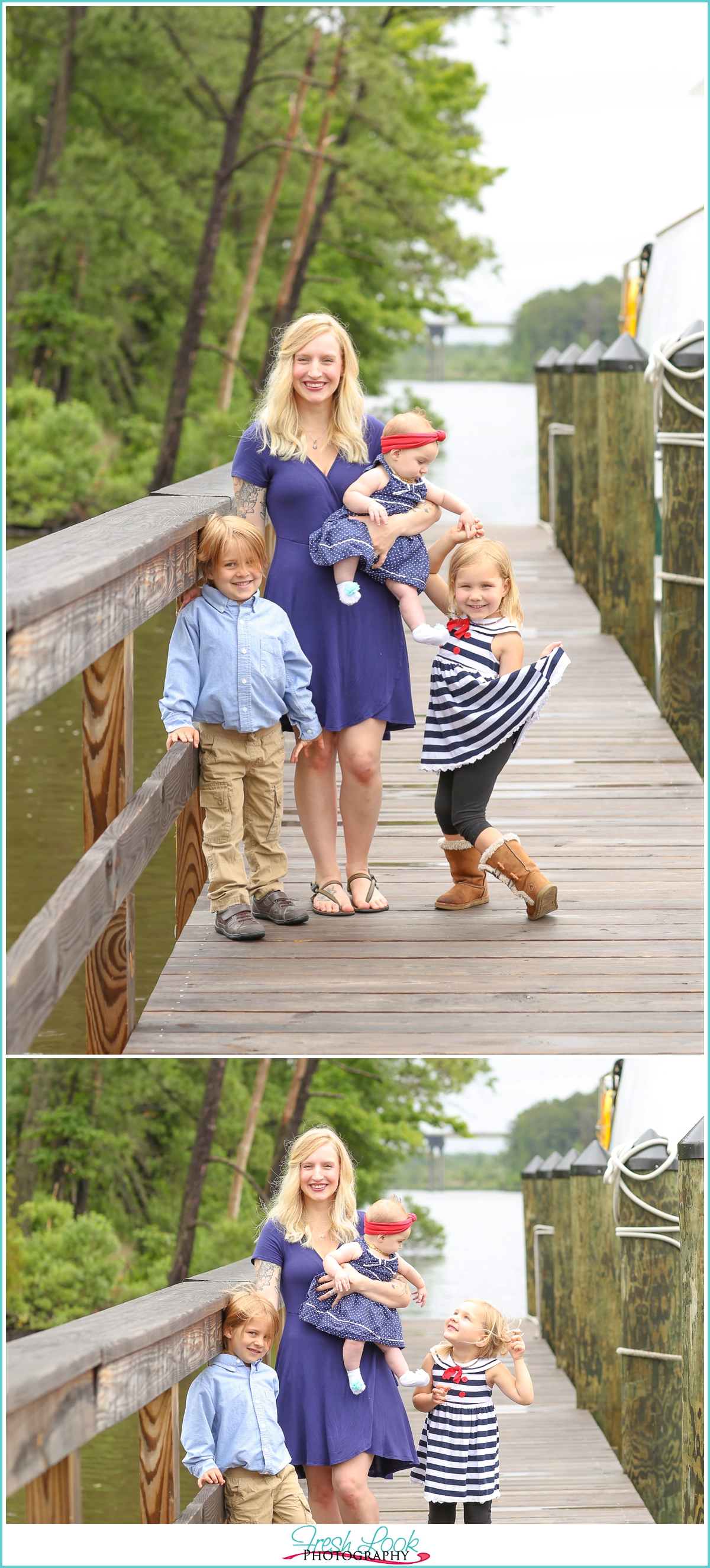 Great Bridge family photo shoot