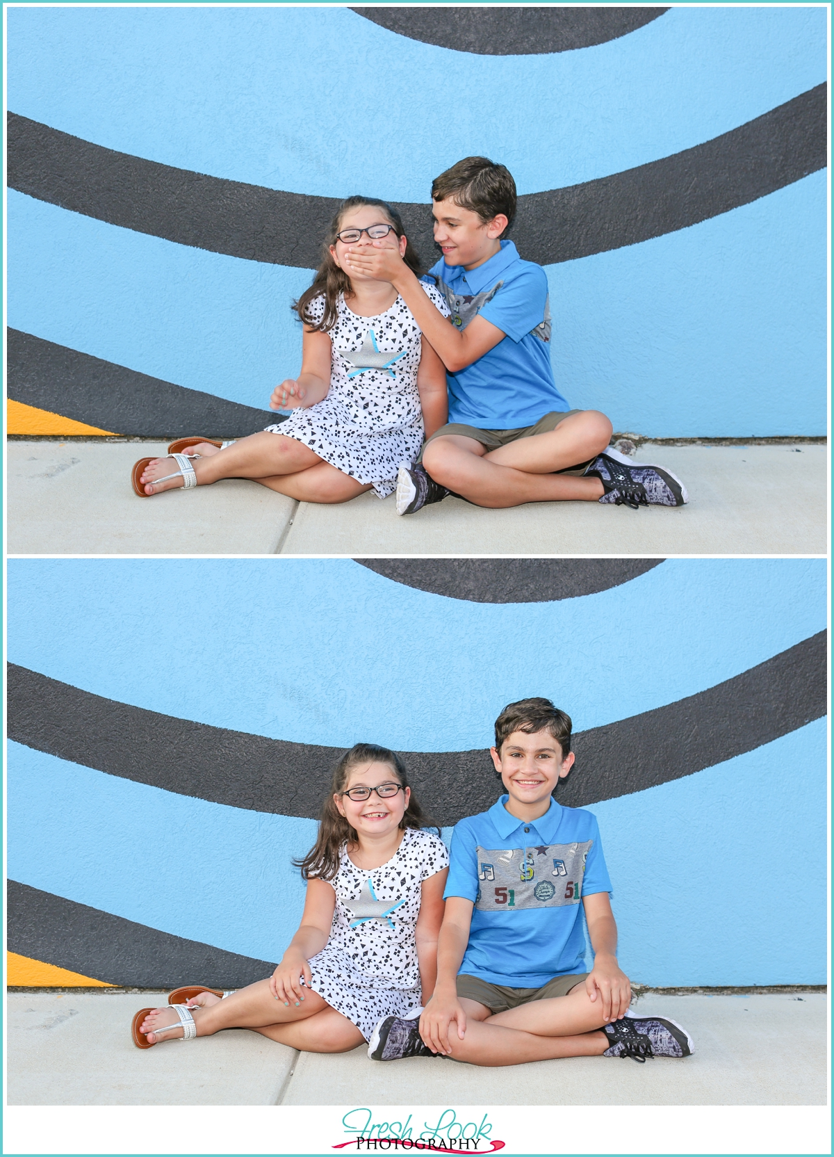 kids being silly together