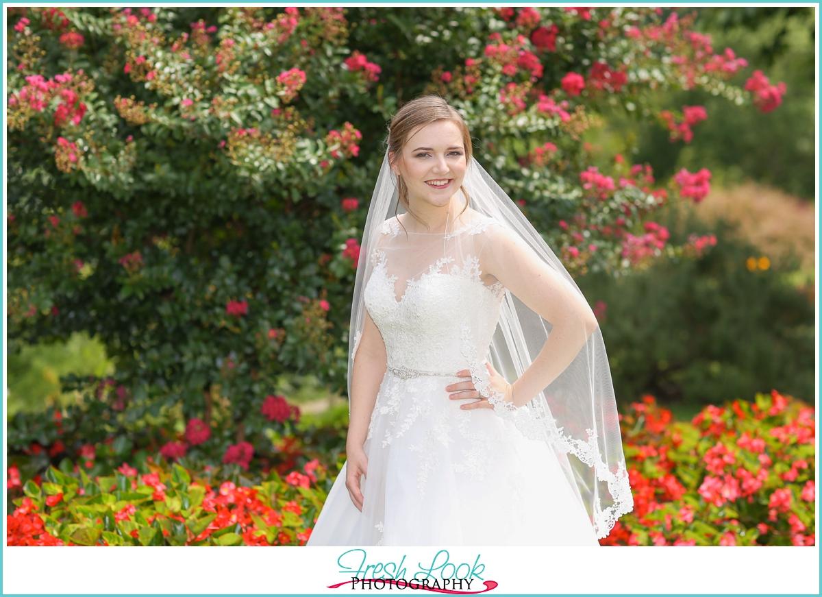 joyful bridal session