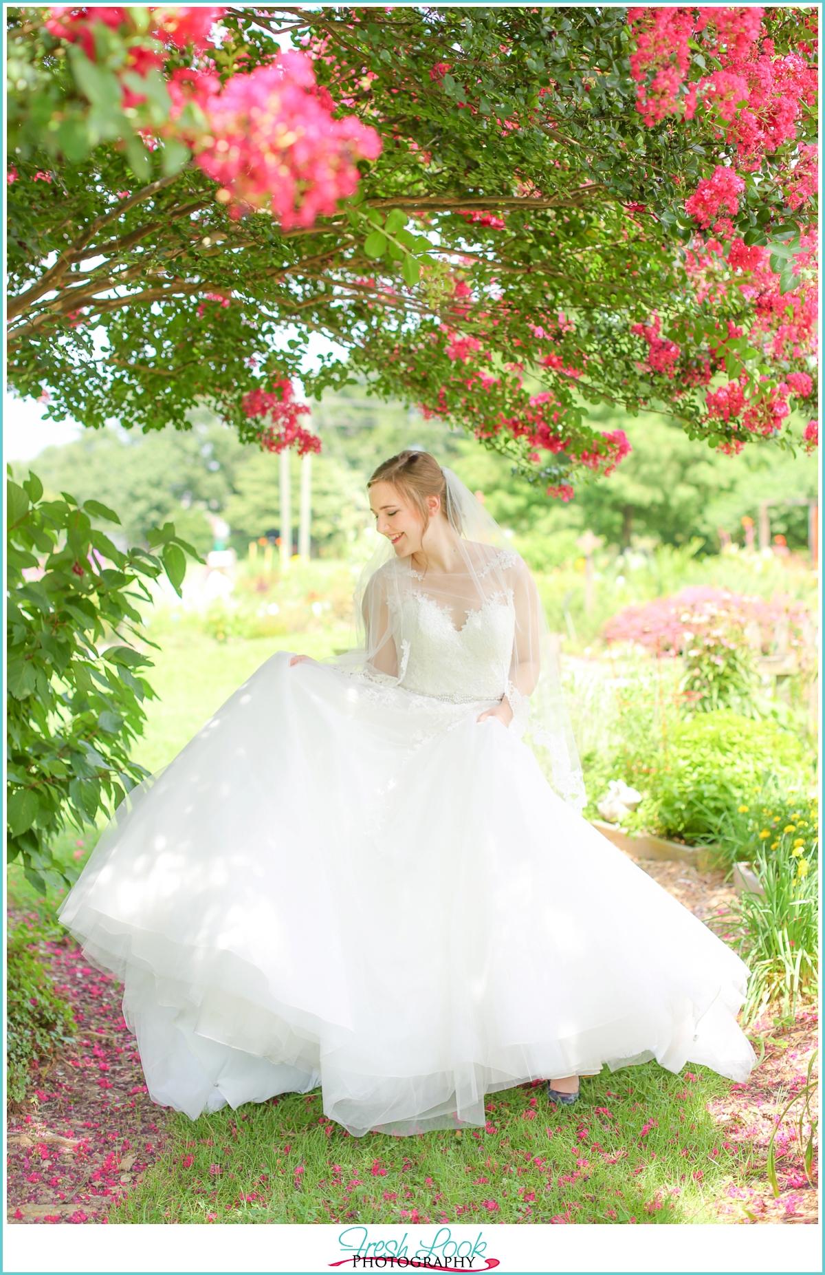 fun bridal session photos