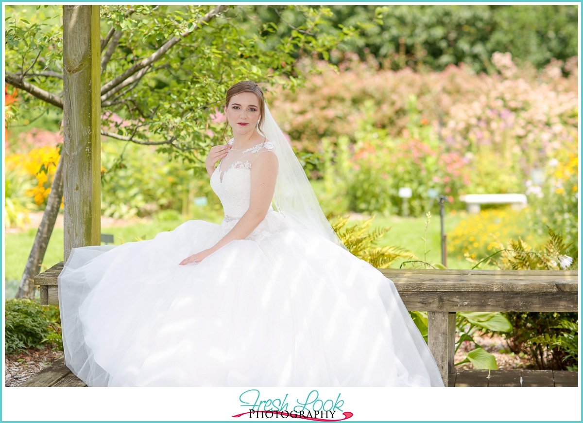 modern elegance bride