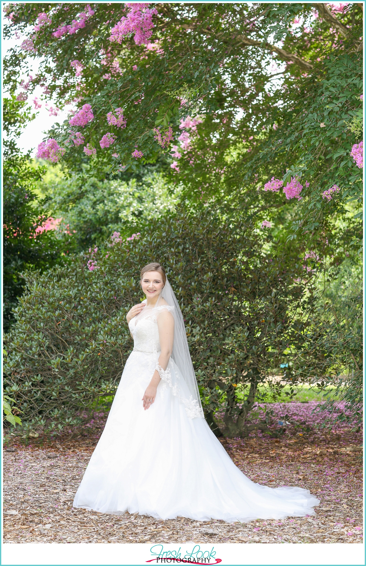 Flower Garden Bridal Session | Liz - JudithsFreshLook.com