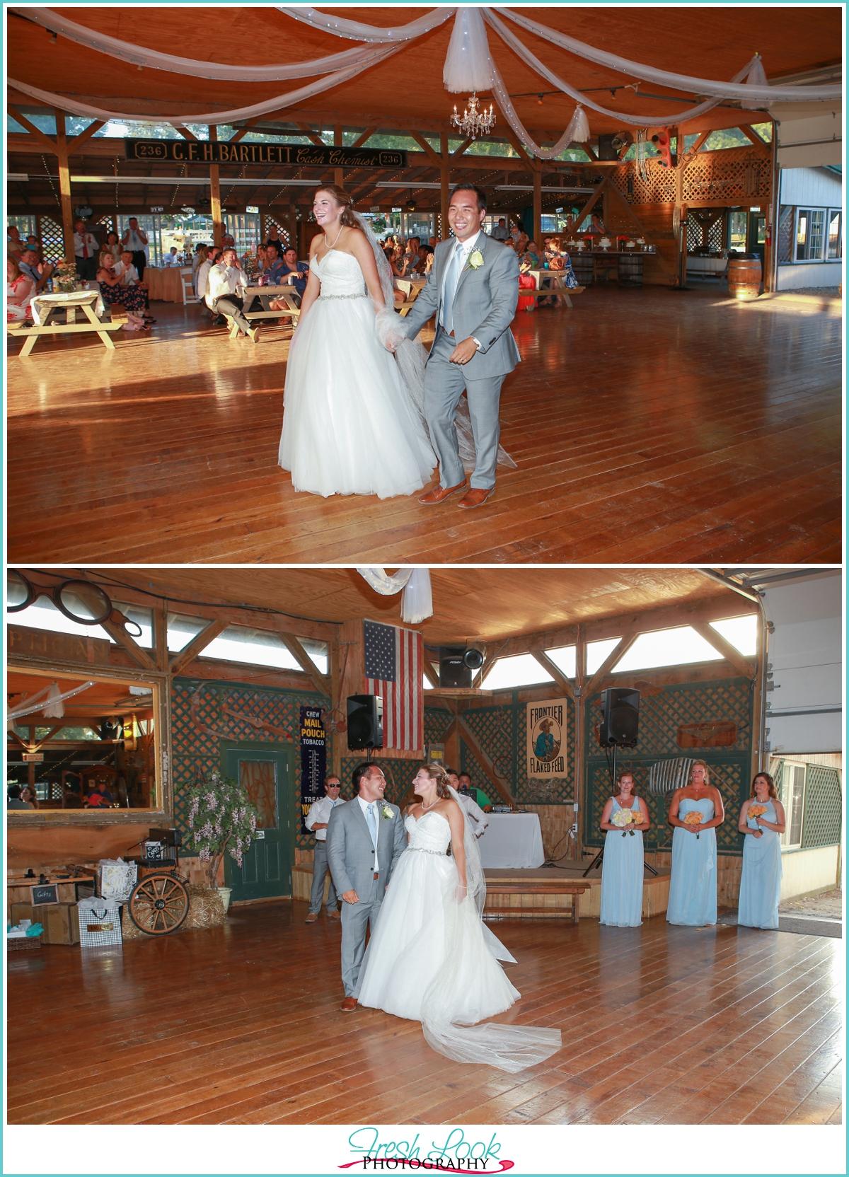 Rustic Hunt Club Farm Wedding Liz John