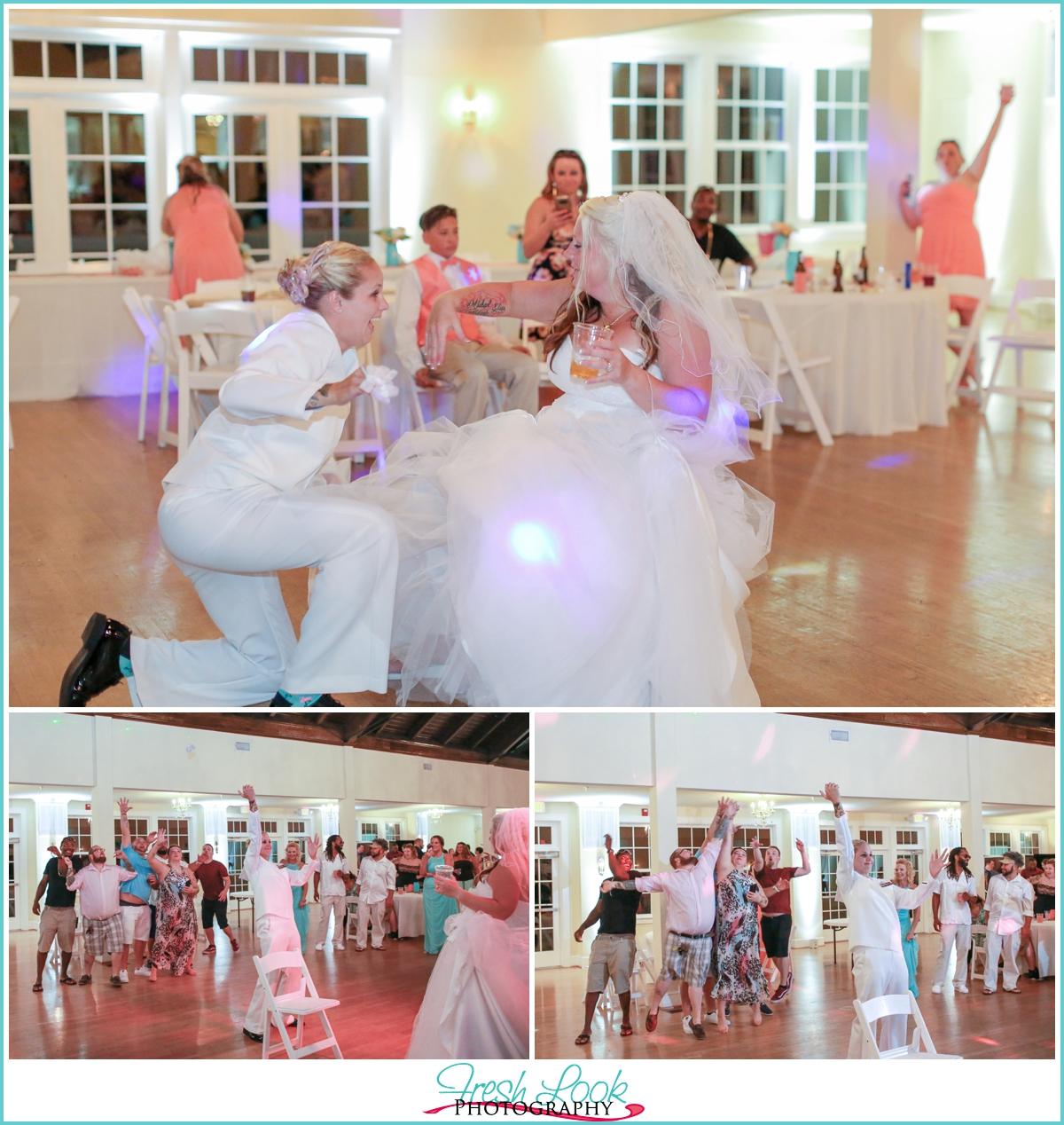 Beachy Womans Club Of Portsmouth Wedding Ashleybobbie