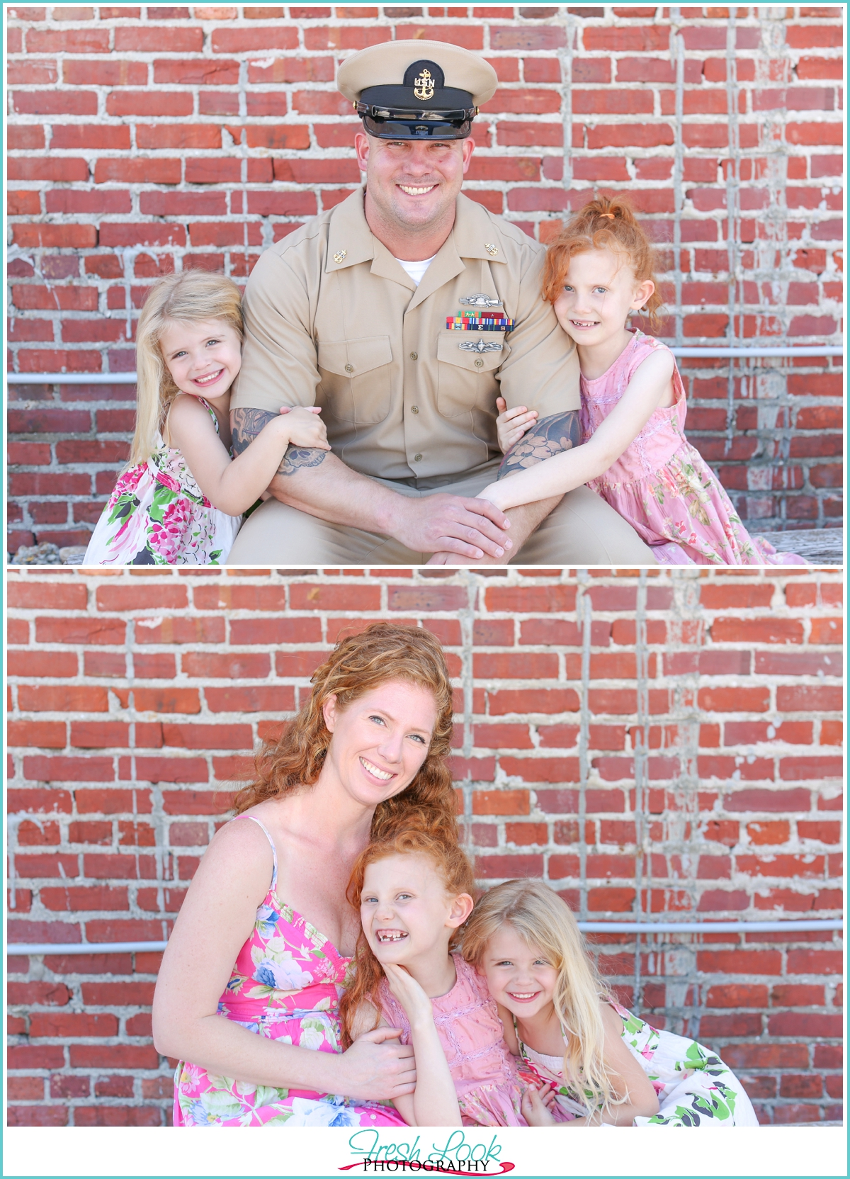 daddy in the military